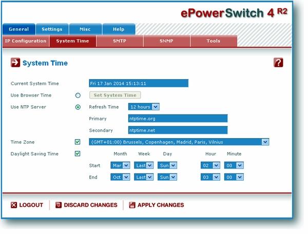 Neol: ePowerSwitch 4